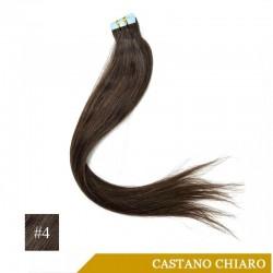 Extension Adesive Castano Chiaro