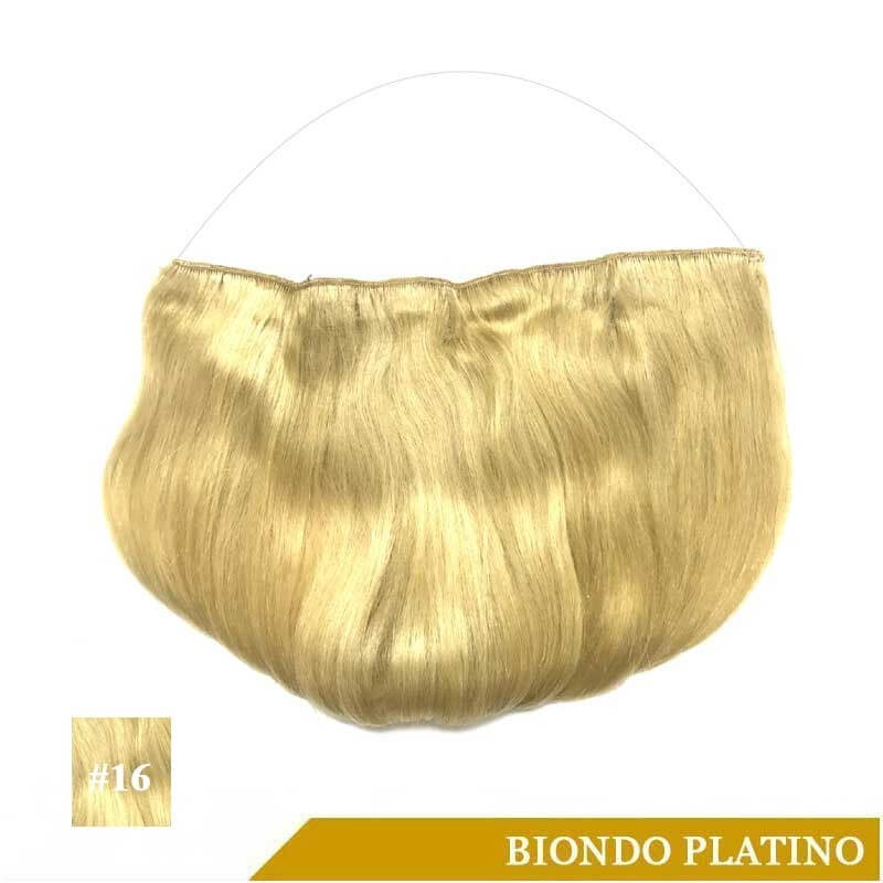 Halo Extension Biondo Platino