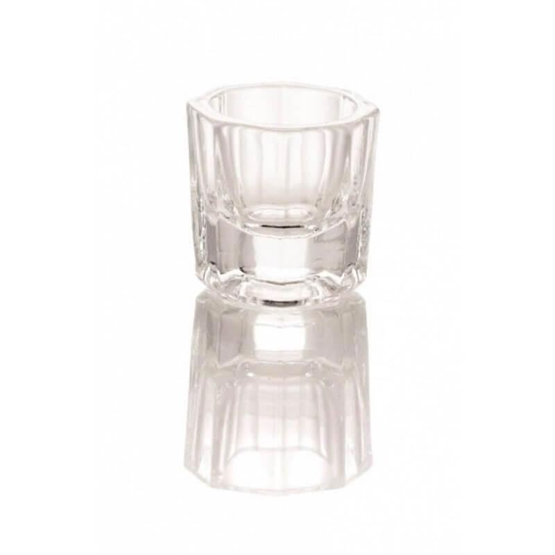 Vasetto in vetro per acrilico